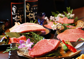 京都宇治にある焼肉店 黒桜